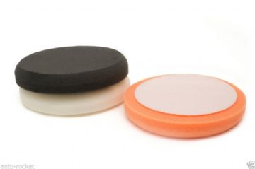 3 x Foam Buffing Pads -  Velcro 150mm x 25mm